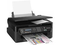 epson wifi printer scanner copier & fax. workforce WF-2510 print wirelessly smartphones tablet PCs