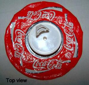 vintage, collectors, Coca-Cola Ice Bag, cold and stable.