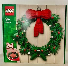 LEGO 40426 Seasonal Christmas Wreath 2-in-1 Brand NEW in Sealed Box