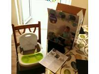 Babies R Us Baby Child Feed Toddler Booster Seat Nearly New with Box& Instructions