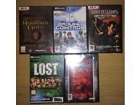 5 PC Games Bundle BNIBs