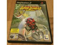 Star Wars - Super Bombad Racing PS2 - Good Condition - Video Game