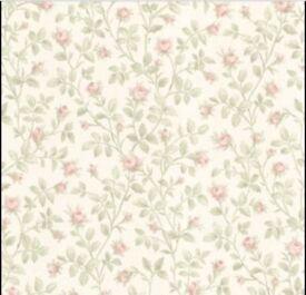 Jardin Blush Rosebud Trail Wallpaper 4 ROLLS AVAILABLE