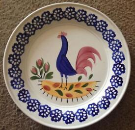 "Portmeirion Pugh Brothers 8.5"" Llanelli Cockerel Plate"