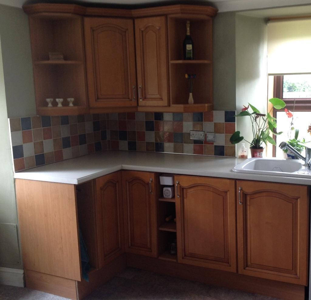 Kitchen units and appliances for sale in stirling gumtree for Kitchen units for sale