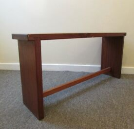 Vintage Long solid wood bench, seat, table, furniture, stool, long FREE DELIVERY IN LEIC. MY RANGE