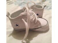 Crib Converse Shoes / 3 Pairs