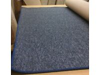 BRAND NEW LARGE WHIPPED RUG/CARPET MAT 195cm x 307cm HARD WEARING BLEACH CLEANABLE LOOP PILE