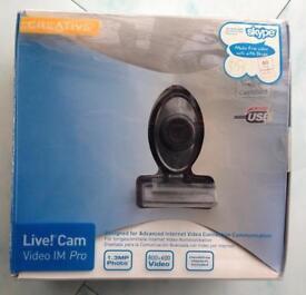 Live! Cam Video IM Pro