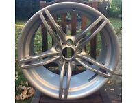 "BMW Genuine Alloy Wheel 19"" M 326 Rear Z4 E89 E46 3 Series 36117842136"