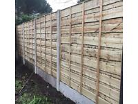 🌳High Quality Wooden/ Timber Wayneylap Pressure Treated Fence Panels