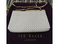 BN TED BAKER CLUTCH WHITE RRP £150
