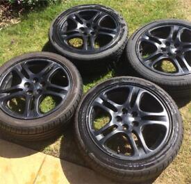 "Subaru alloys 5 stud 17"" wheels"