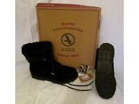 Aigle Black Goretex Boots Size 42