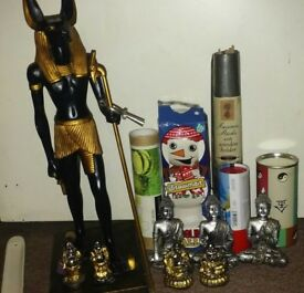 Incence sticks & Various Ornaments.