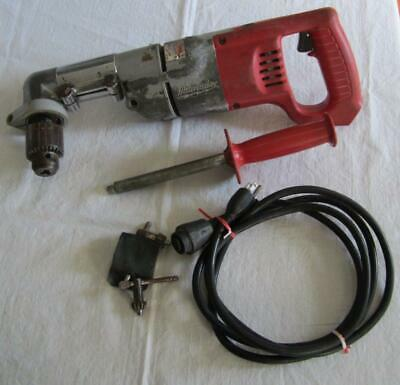 Milwaukee 12 Right Angle Varible Speed Reversible Drill 1107-1 0-500 Rpm