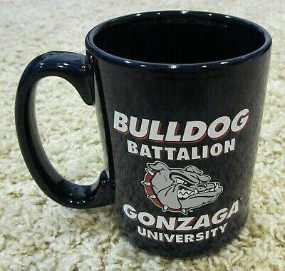 Bulldog Battalion, Gonzaga University, Ceramic Coffee Mug, Navy Blue, Two Sided Gonzaga University Bulldogs