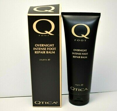 100% Authentic QTICA Overnight Intense Foot Repair Balm 8oz. Therapeutic -