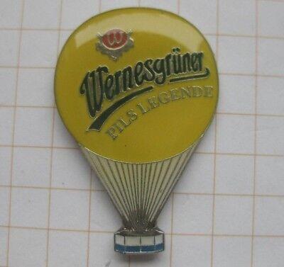 WERNESGRÜNER / PILS LEGENDE ............ Bier-Ballon-Pin (117g)
