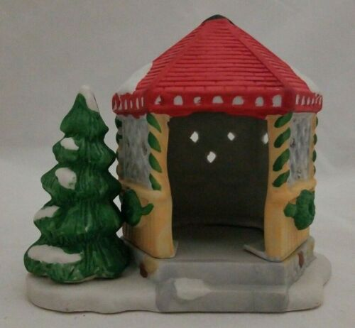 Dickensville Collectibles Porcelain Decoration Holiday Gazebo