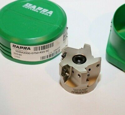 Sssm2000 0750 R55 5c Dapra 16mm Square Shoulder Shell Mill 2.000