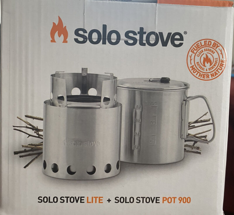 Solo Stove Camp Everything You Need Bundle  Includes*Grill*gloves*shovel*stove