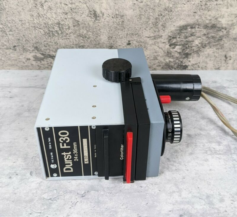 Durst F30 35mm Compact Enlarger & Patterson 4 Element Lens Tested