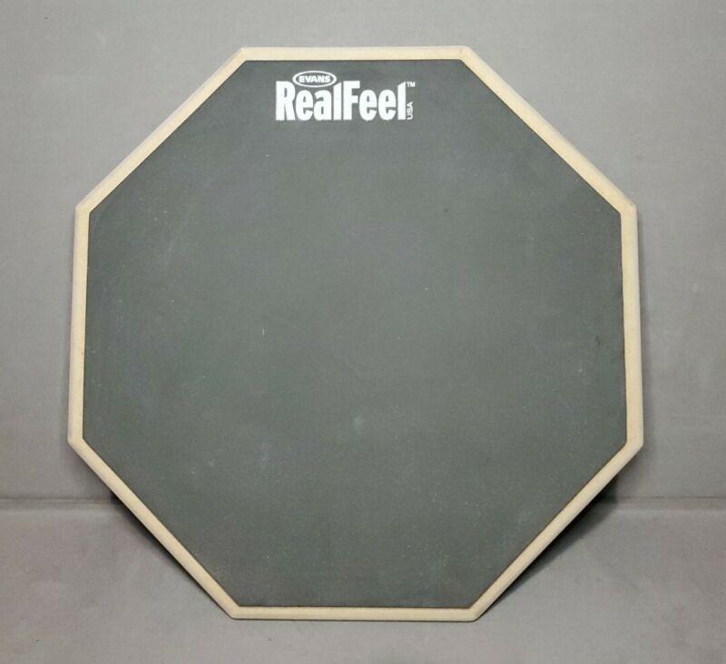 RARE!!! Evans Real Feel 12 Inch Drum Practice Pad