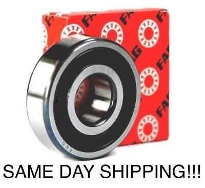 Fag Bearings - 6301 RS 2RSR FAG Deep Groove Ball Bearing Size: 12x37x12 mm SAME DAY SHIPPING!!!