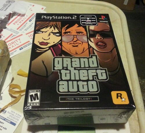 Rockstar Grand Theft Auto Trilogy San Andreas Vice City 3...