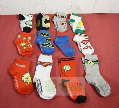 Boys DC Comics Justice League 12 Days Of Socks, Size Small