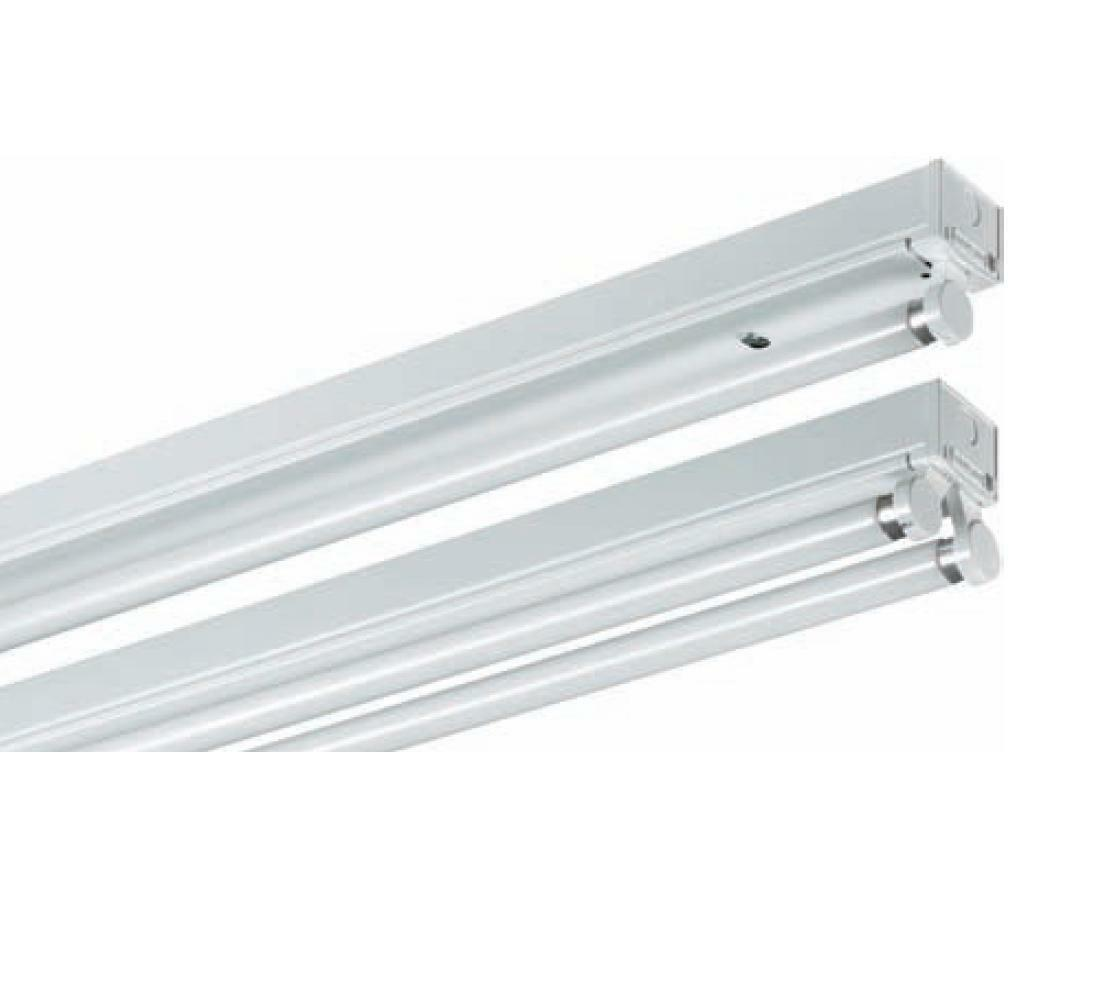 LED T8 Fluorescent 4 Foot Batten Lights Cage Diffused Or