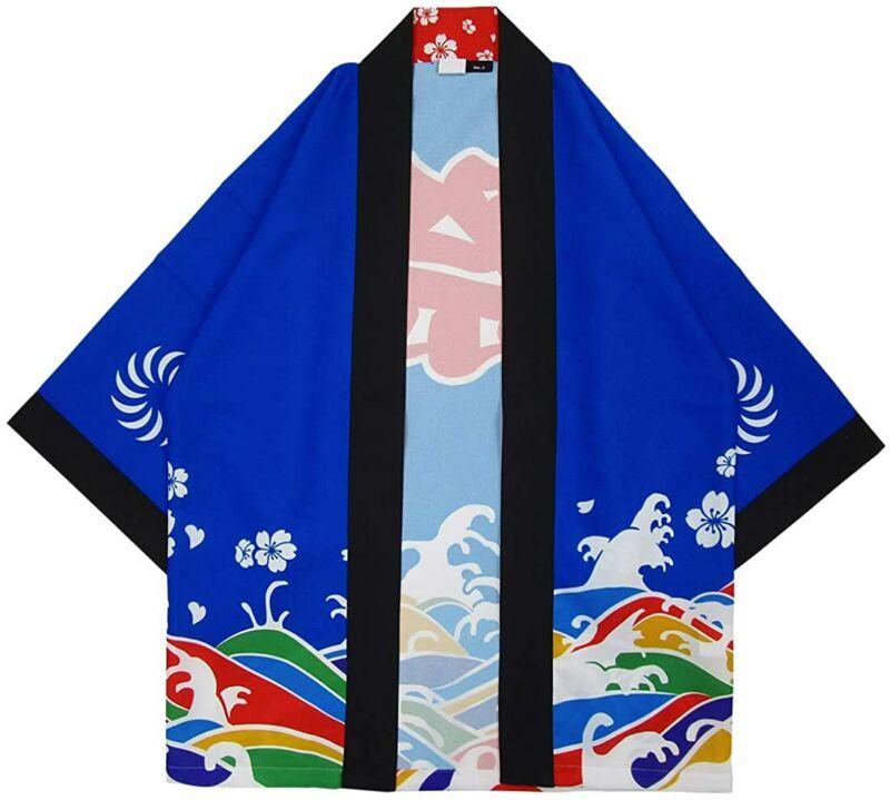 Festival Clothes Short Coat Happi Tokyo Blue Standard Matsuri From Japan New