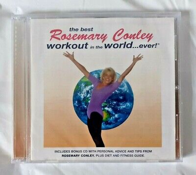 THE BEST ROSEMARY CONLEY WORKOUT IN THE WORLD EVER CD Brand new
