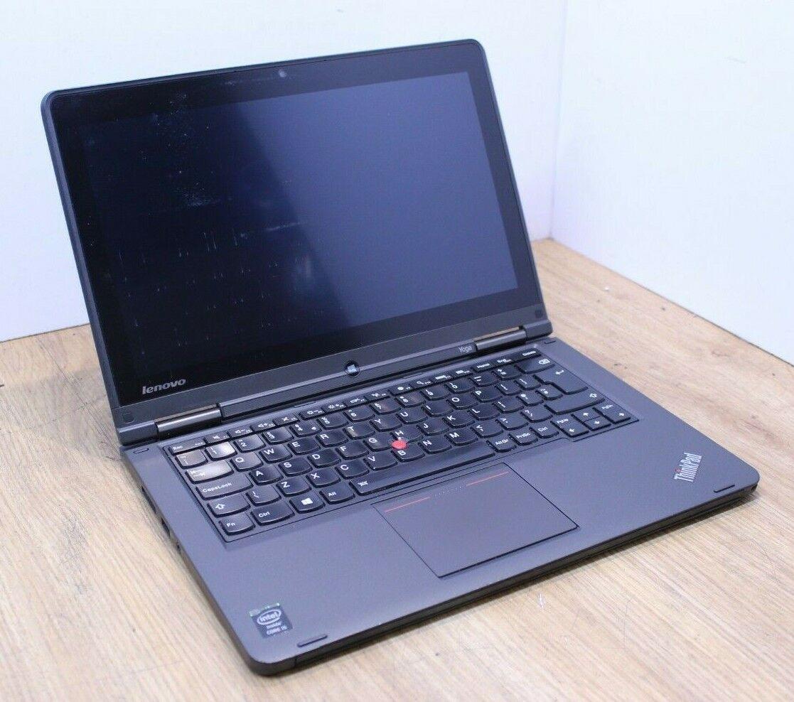 Laptop Windows - Lenovo Yoga 14 Pro Windows 10 Laptop Intel Core i5 4th Gen 1.6GHz 8GB 240GB SSD