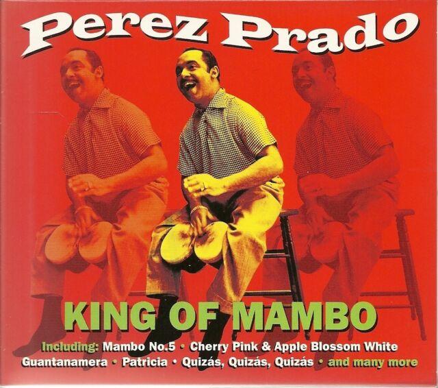 PEREZ PRADO KING OF MAMBO - 2 CD BOX SET - MAMBO No.5, TABU & MORE