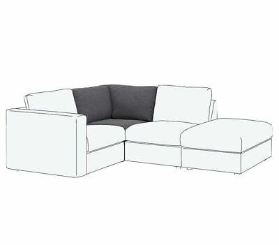 Ikea Vimle Corner Section Cover, Gunnared Medium Grey 403.510.86