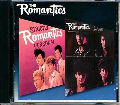 SEALED NEW CD The Romantics - Strictly Personal + In Heat