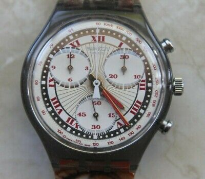 SWATCH CHRONOGRAPH SCM106 - PLEASURE DOME / AG1993 - VINTAGE