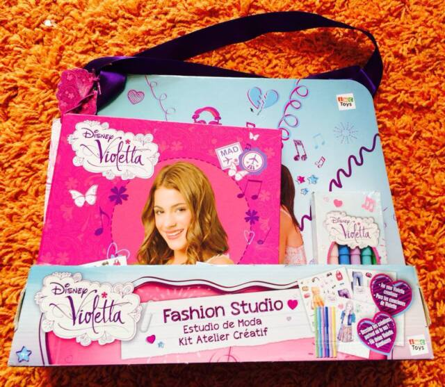 Disney Violetta Fashion Studio IMC Toys Modestudio Skizzenblock