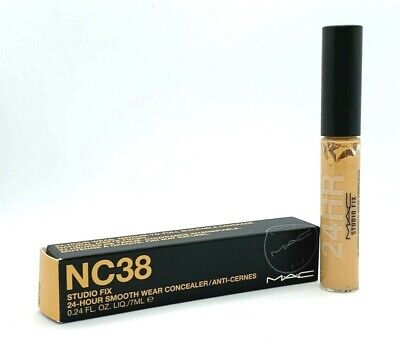 Mac Studio Fix Smooth Wear Concealer ~ NC38 ~ .24 oz BNIB for sale  Shipping to India