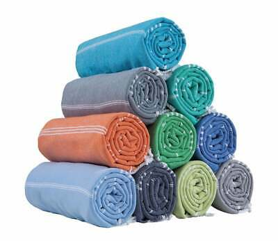 HAVLULAND (Set of 6 100% Turkish Cotton Beach Pool Towel Absorbent Set 71' X 39