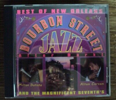 MAGNIFICENT SEVENTH'S Best Of New Orleans Bourbon Street Jazz After Dark CD