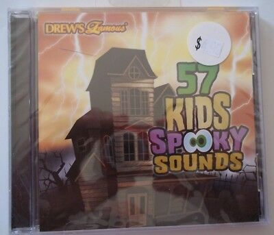NEW Drew's Famous Party Music 57 KIDS SPOOKY SOUNDS CD - Scary Entertainment!](Scary Halloween Music Kids)