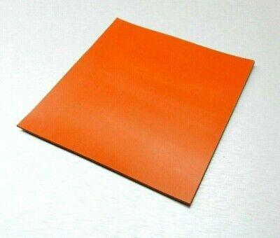 Silicone Rubber Pad High Temp Solid Redorange Grade Sheet 6 X 6 X 18
