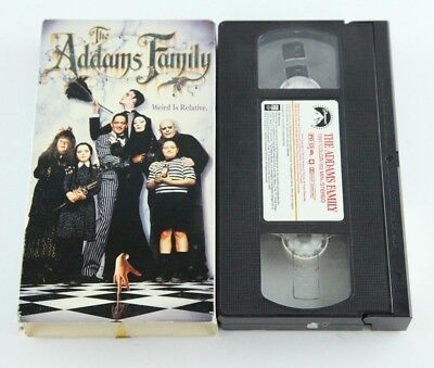 Mcdonalds Halloween Movie (The Addams Family McDonalds Edition VHS Tape Halloween Scary Movie)