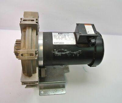 Boumatic Airtech Vacuum Pump W 1.5hp Electric Motor Dairy Pump.