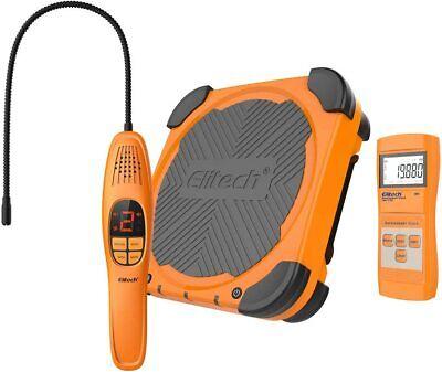 Elitech Ld-200 Refrigerant Leak Detector Lmc-210a Charging Scale Hvac Tools Set