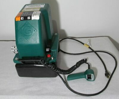 New Greenlee Model 975 Hydraulic Power Pump With Remote 120vac 10000 Psi
