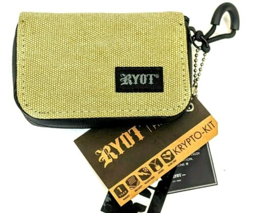 RYOT Krypto-Kit with SMELLSAFE Technology Removable Pouch and Poker *Natural*